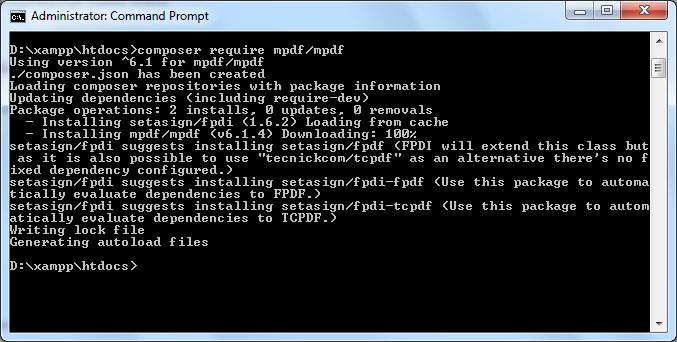 สร้างรายงาน PDF อย่างง่าย ๆ ด้วย mPDF PHP Library