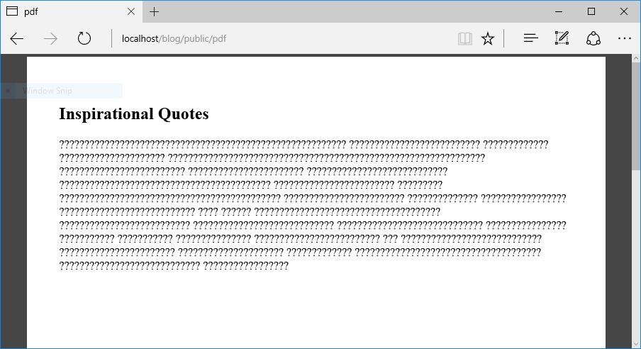How to Generate PDF Documents File Laravel 5 x - Monkeywebstudio
